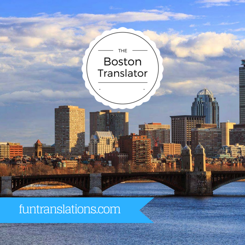 Boston translator