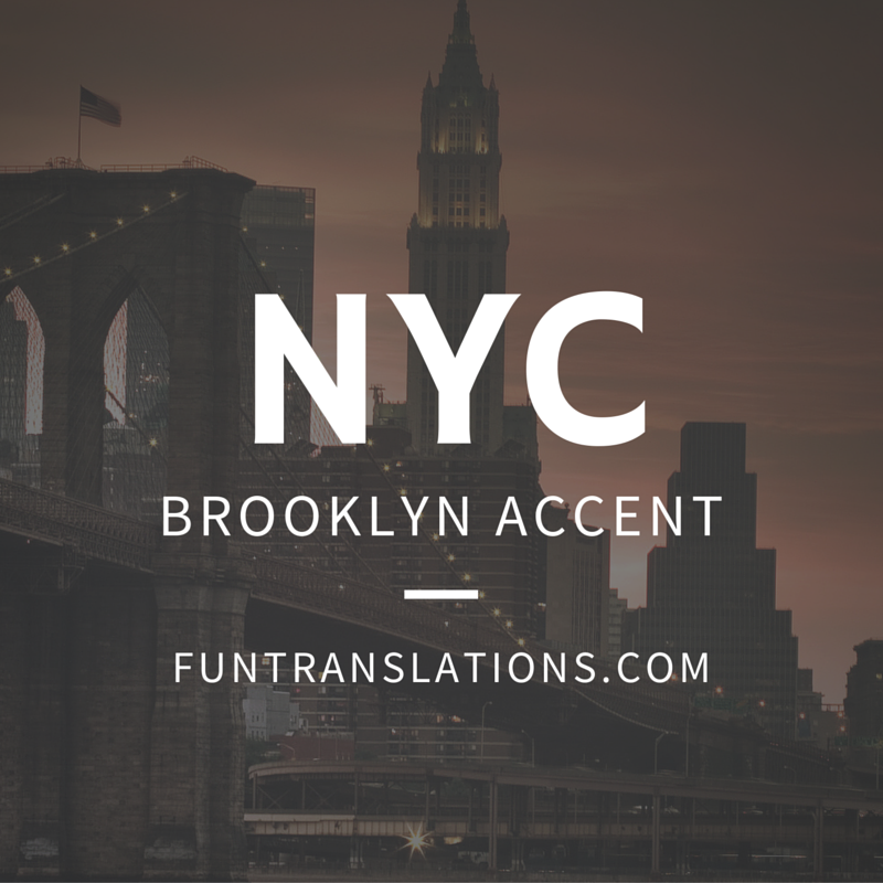 Brooklyn Translator