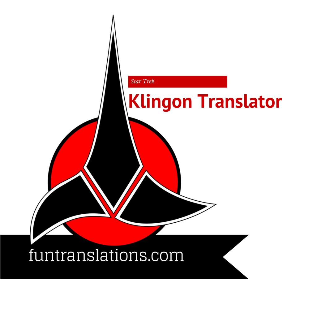klingon translation google