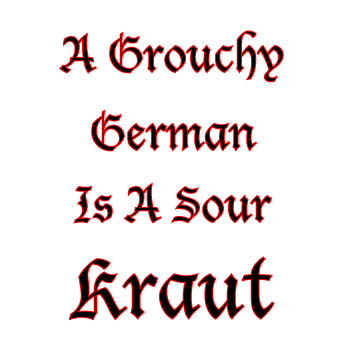 Kraut Speak