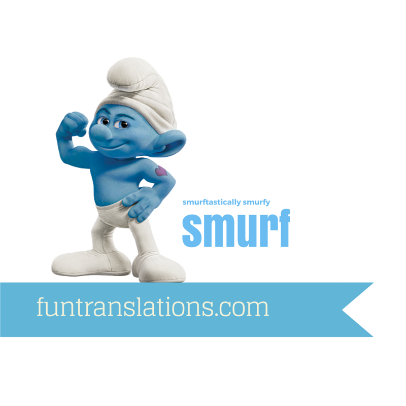 Smurf Translator