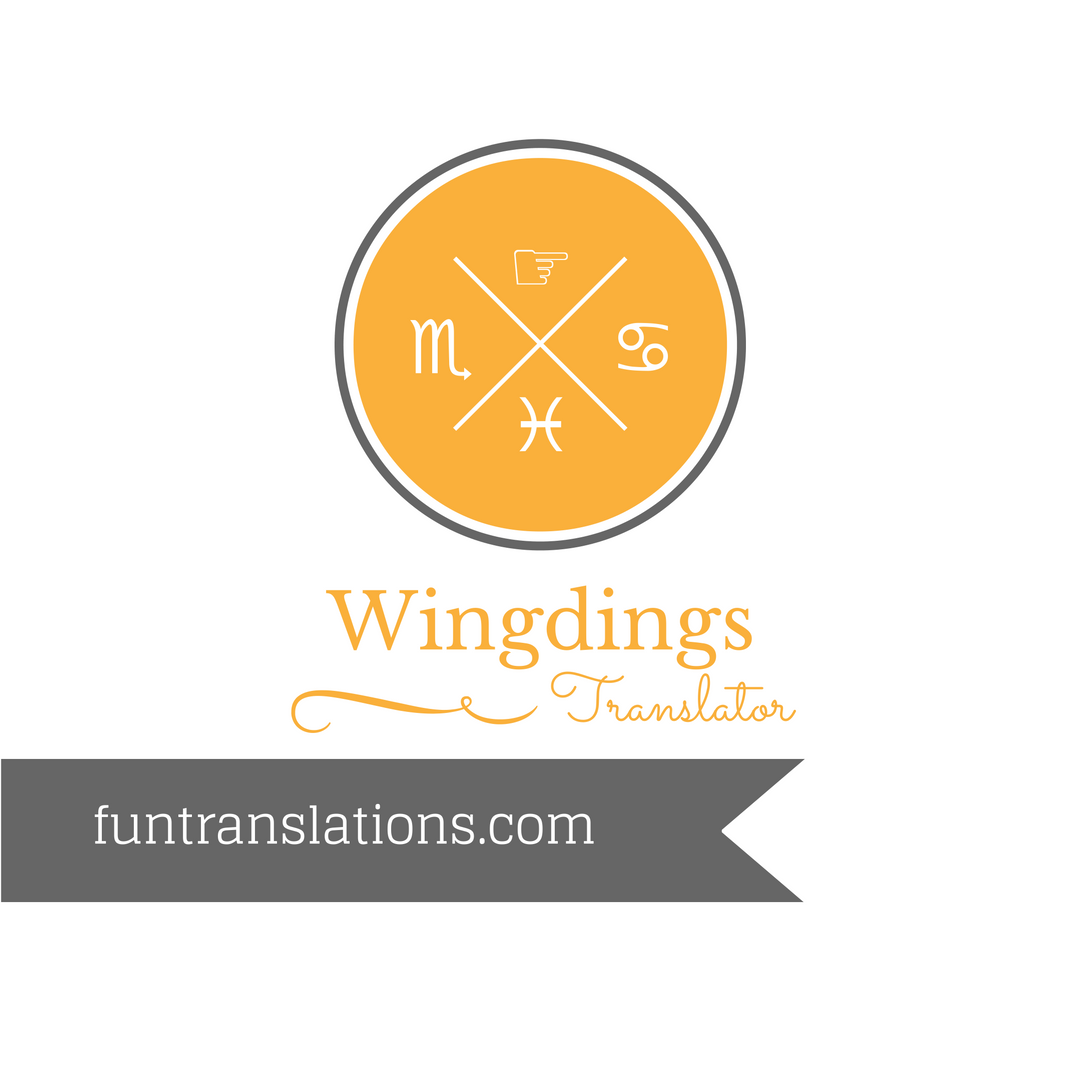 Wingdings Translator